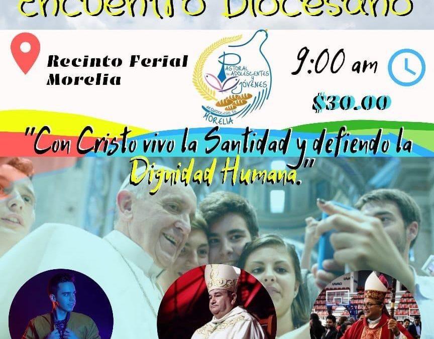 XXIV Encuentro Diocesano de la Pastoral de Adolescentes y Jóvenes.